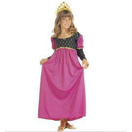 Disfraz reina rosa 5-7 8-10 11-13