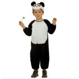 Disfraz oso panda 3-4 4-5