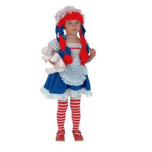 Disfraz muñeca trapo niñas de 3 y 4 años