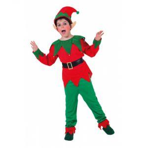 Disfraz elfo duendecillo niños de 2 a 9 años