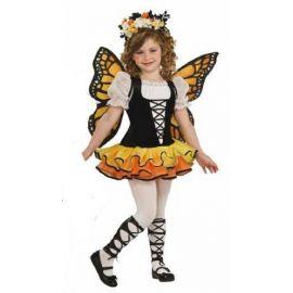Disfraz mariposa ni?a