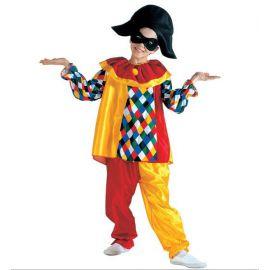 Disfraz arlequin niños de 5 a 13 años