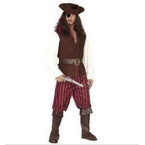 Disfraz pirata deluxe widmann