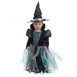 Disfraz bebe bruja azul
