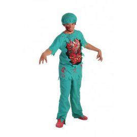 Disfraz doctor zombie infantil
