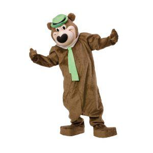 Disfraz oso Yogi de lujo
