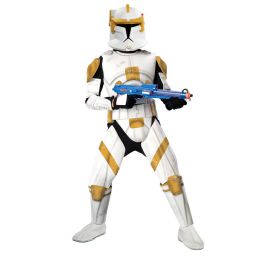 Disfraz clonetrooper cody de lujo