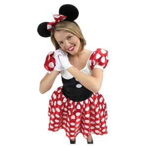 Disfraz minnie mouse de lujo