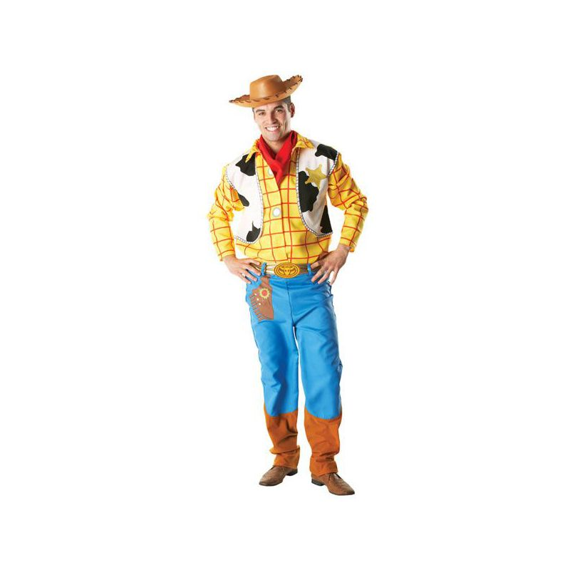 Disfraz Woody Toy Story lujo - Barullo.com 76206fb1f97