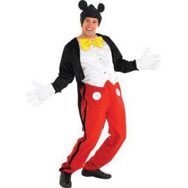 Disfraz mickey mouse de lujo