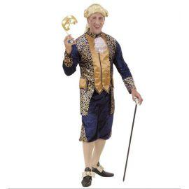 Disfraz marques epoca azul hombre adulto