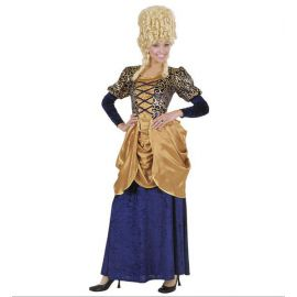 Disfraz marquesa epoca azul mujer adulto