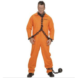 Disfraz De Presa Mujer Naranja