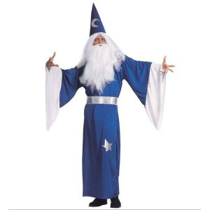 Disfraz mago merlin adulto hombre
