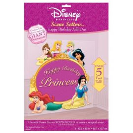 Decoracion pared princesas disney