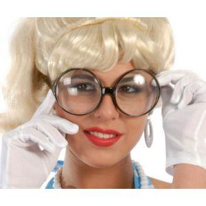 Gafas redondas secretaria