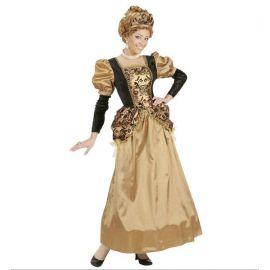 Disfraz cortesana epoca mujer adulto