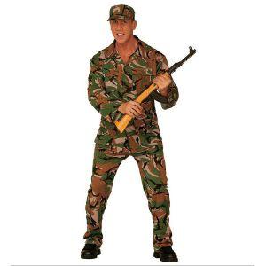 Disfraz militar adulto hombre