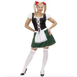 Disfraz tirolesa deluxe mujer adulto