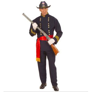 Disfraz general confederado adulto