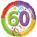Globo helio 60 años