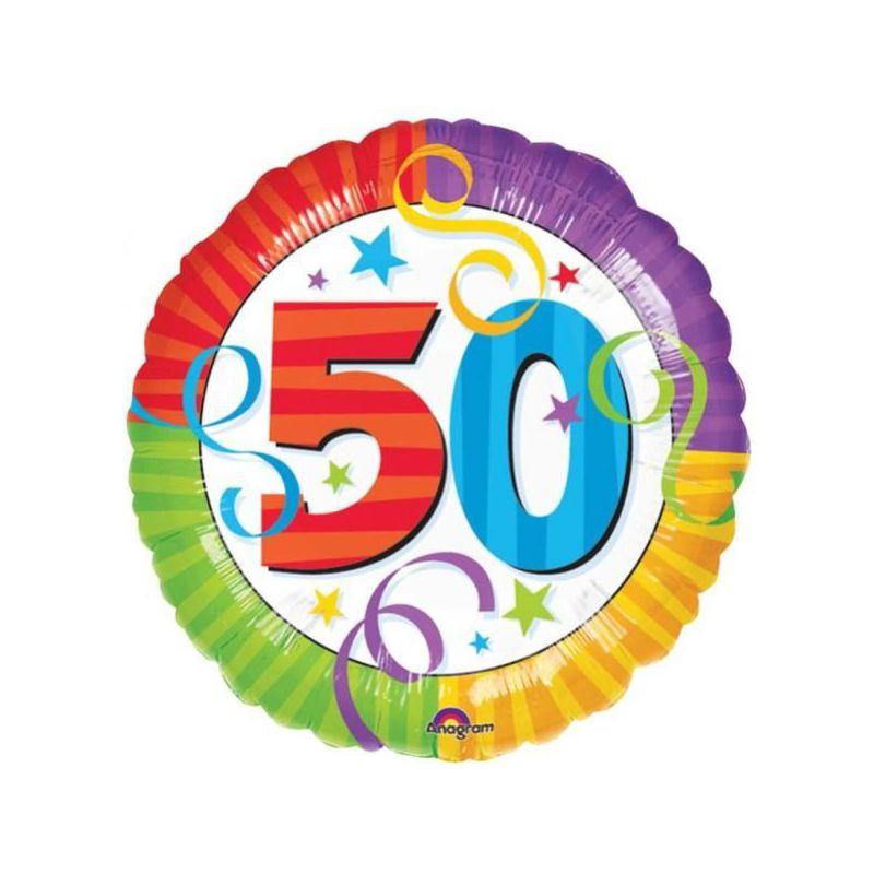 Globo helio 50 a os for Decoracion con globos 50 anos