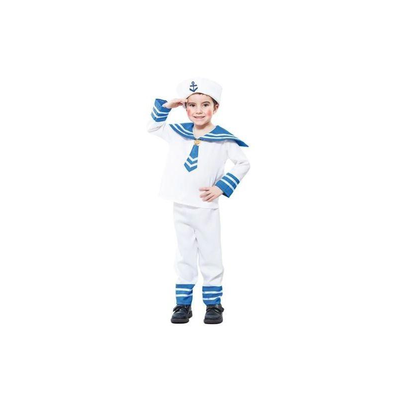 Disfraz marinero ni os de 2 a 4 a os - Disfraz de marinero casero ...