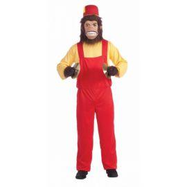 Disfraz mono loco adulto