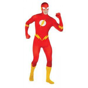 Disfraz flash segunda piel hombre