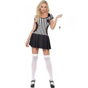 Disfraz arbitro chica sexy