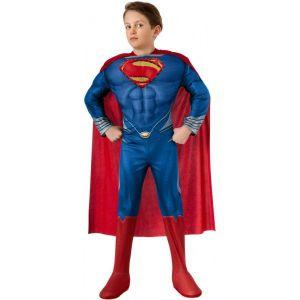 Disfraz superman hombre de acero ni?o