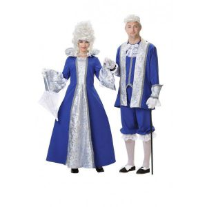 Disfraz duquesa deluxe azul