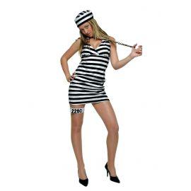 Disfraz presa alcatraz sexy adulto