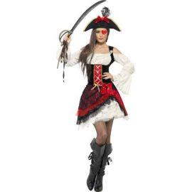 Disfraz piratesa gramour mujer