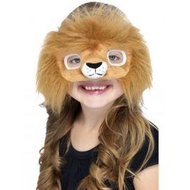 Mascara antifaz peluche leon
