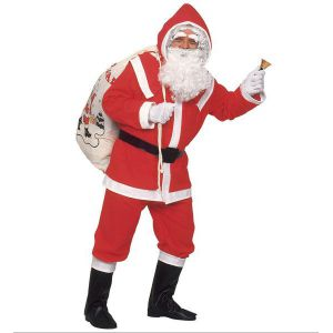 Disfraz Papá Noel deluxe