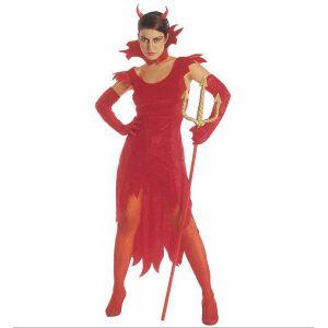 Disfraz diablesa adulto para mujer