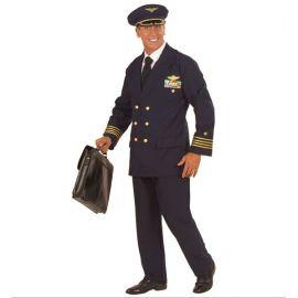 Disfraz piloto aéreo adulto