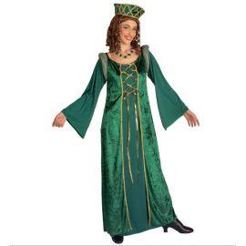 Disfraz Lady Eleonora medieval