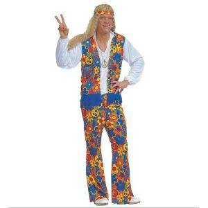 Disfraz hippie hombre XL