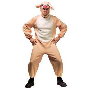 Disfraz cerdo adulto