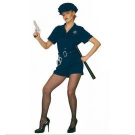Disfraz policía mujer