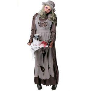 Disfraz doncella zombie