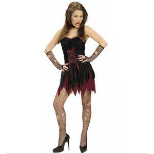 Disfraz vampira victoriana