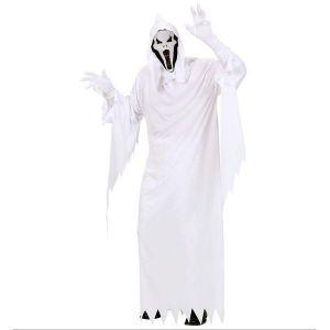 Disfraz fantasma blanco adulto