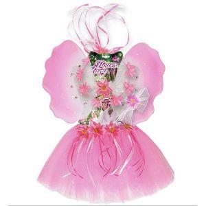 Set hada de las flores rosa