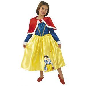 Disfraz Blancanieves invierno deluxe niñas de 3 a 6 años