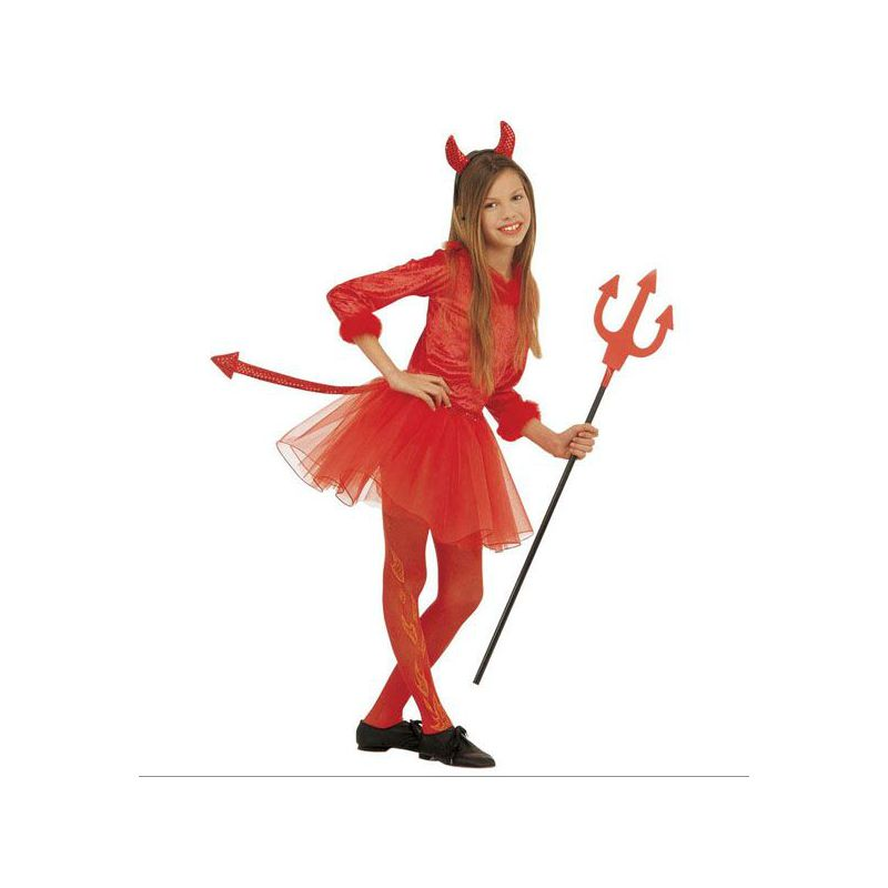 Disfraz diablesa niña de 5 a 13 años Barullo