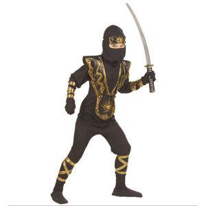Disfraz ninja golden dragon