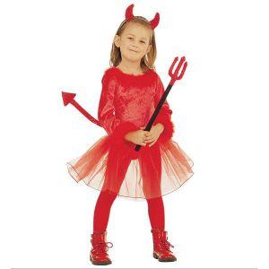 Disfraz diablesa niña de 3 a 5 años